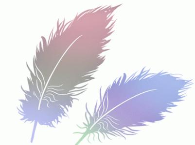 小学儿童短篇故事文字版:亮丽的羽毛